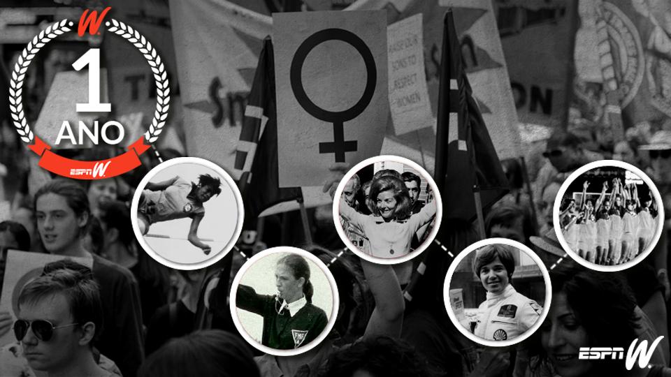 No esporte e na política, estas mulheres desafiaram as convenções e gravaram seus nomes na história