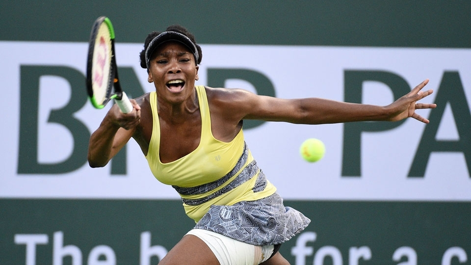 Venus Williams perde para russa e cai em Indian Wells; Carreño avança para a semifinal