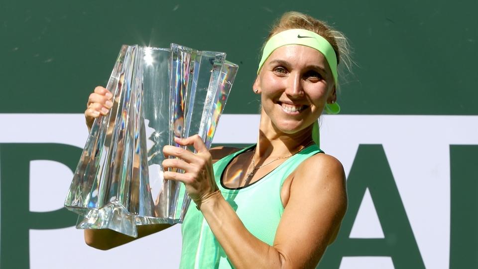 Em final russa, Vesnina bate Kuznetsova e é campeã de Indian Wells