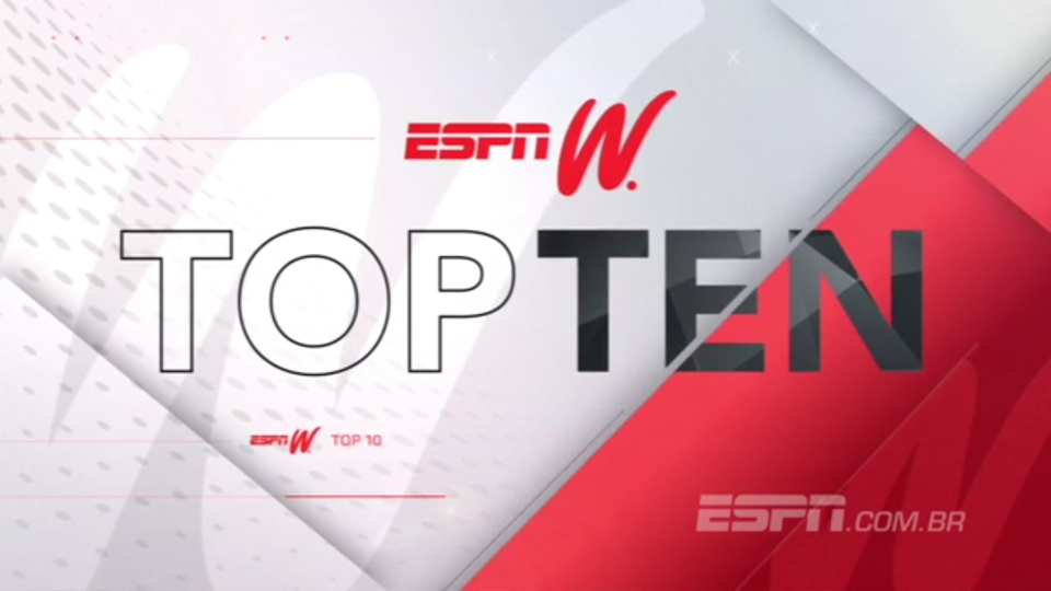 Toco por trás no estouro do cronômetro é destaque do 'Top 10' do espnW