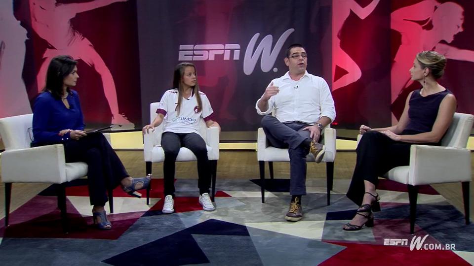 O desenvolvimento do esporte feminino de base está no foco do Olhar espnW