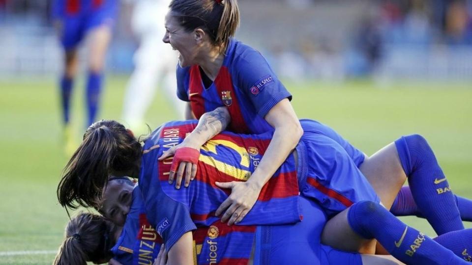 Nem o Barça acreditava que estaria na semi da Champions feminina