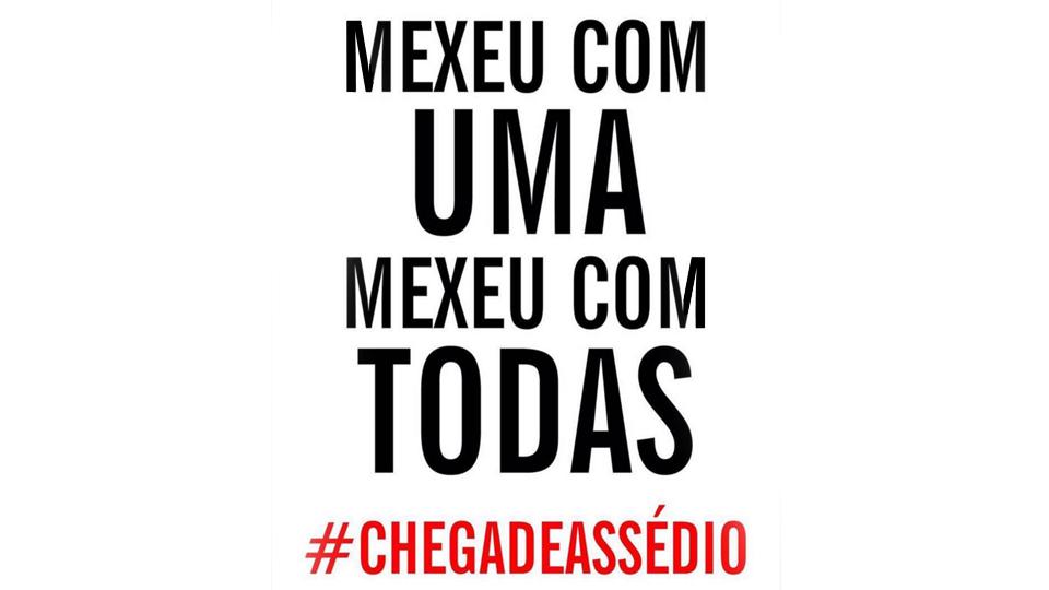 Campanha #MexeuComUmaMexeuComTodas mobiliza atletas, artistas e comunicadoras contra o assédio