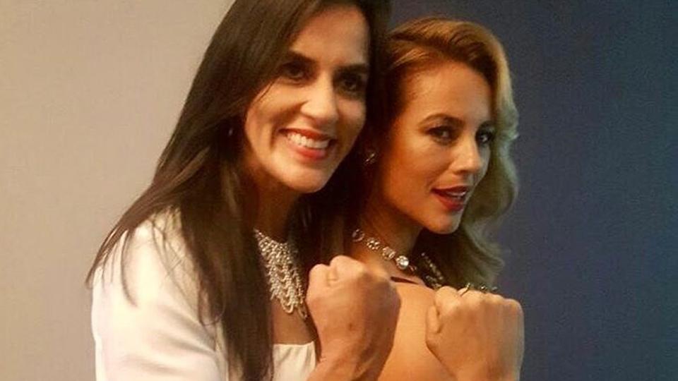 Única lutadora a derrotar Cris Cyborg, Érica Paes fala sobre trabalho na TV e treinos de MMA com a atriz Paolla Oliveira