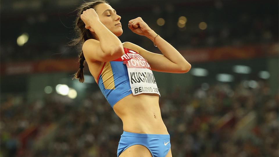 Campeã mundial do salto em altura em 2015 e vetada dos Jogos Rio-2016, Mariya Kuchina recebe autorização para competir