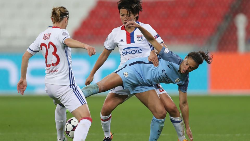 Carli Lloyd marca, Manchester City vence, mas Lyon avança e Champions League feminina terá final francesa