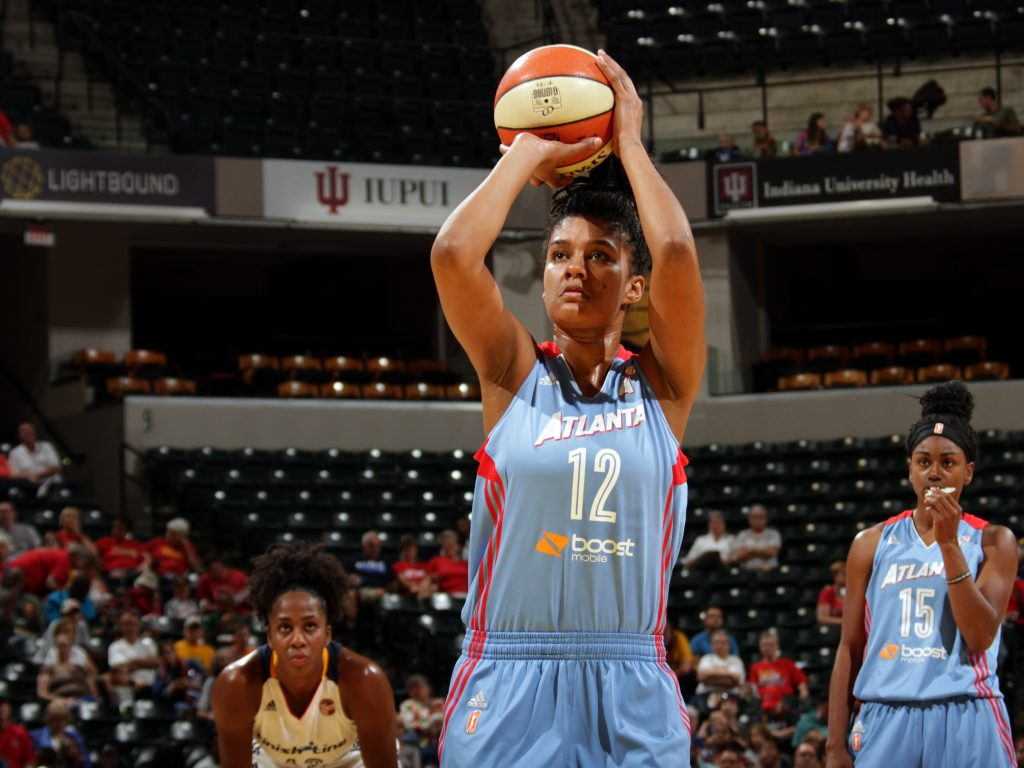 Damiris já jogou no Minnesota Lynx e Atlanta Dream (Getty Images)