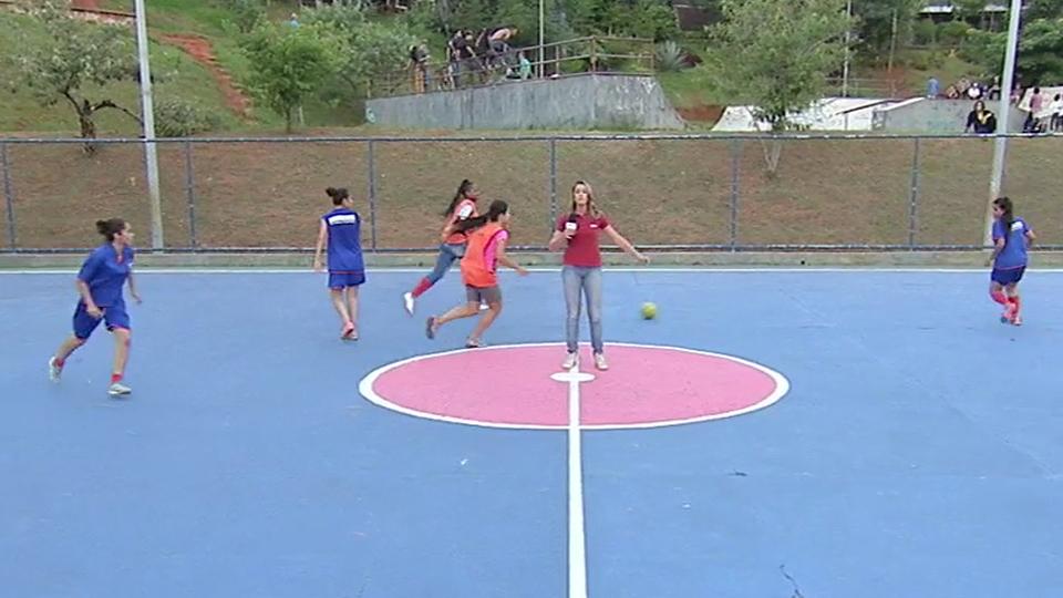 A espnW pintou quadras para chamar a atenção para a desigualdade entre mulheres e homens no esporte