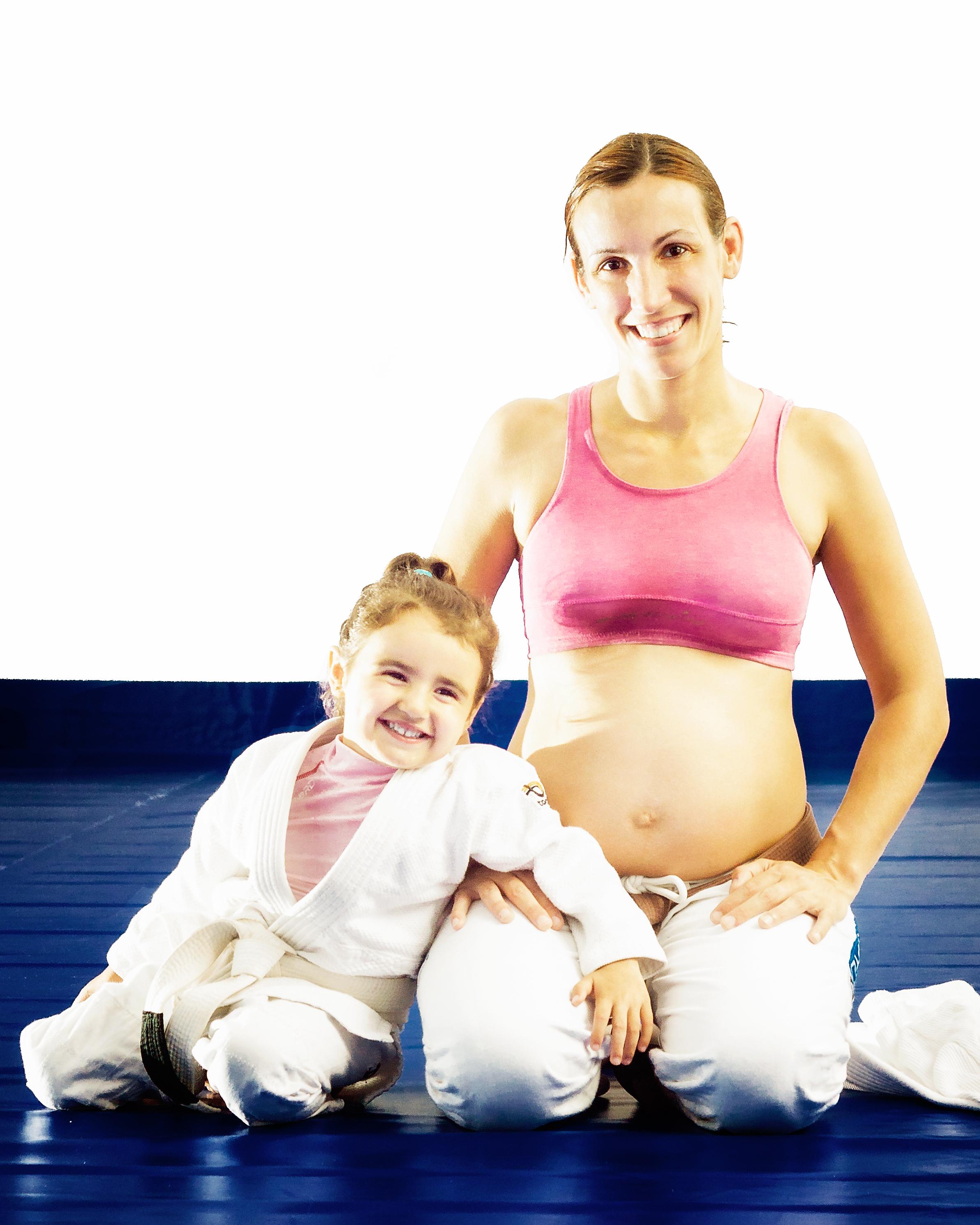 Anna e sua filha; (Imagem: blog pessoal da Anna)