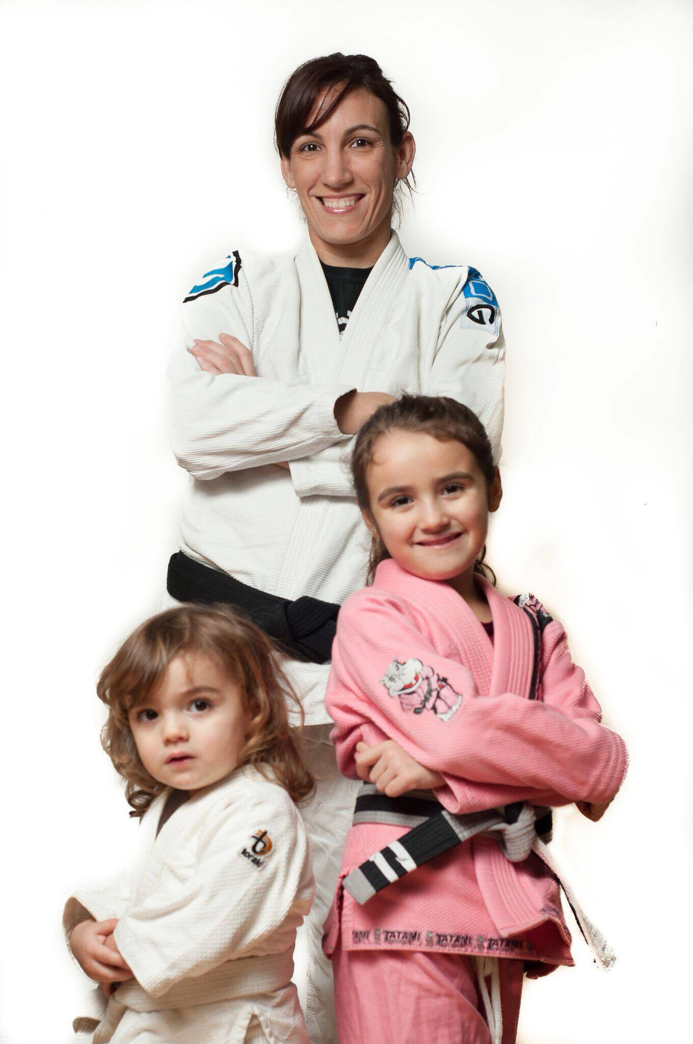 Anna e suas filhas <3 (Foto: arquivo pessoal)