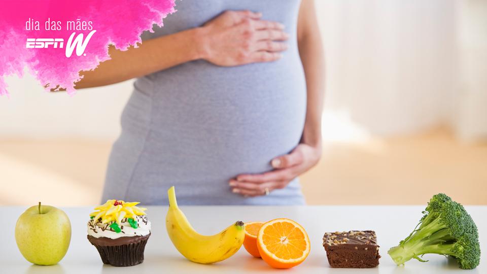 Saiba como alimentar o bebê de forma saudável durante a gravidez