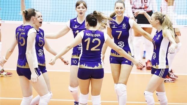Osasco sucumbe para time suíço e não avança no Mundial de Clubes de vôlei feminino
