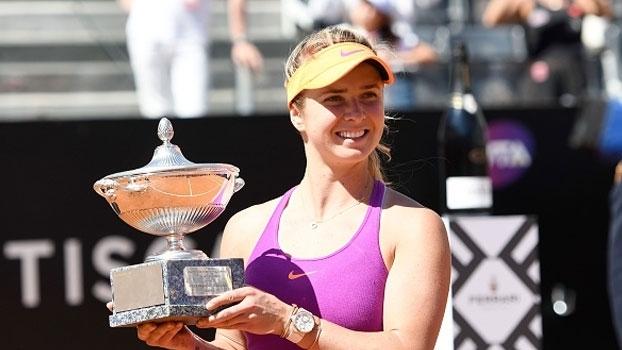 Elina Svitolina desbanca Simona Halep e conquista WTA de Roma