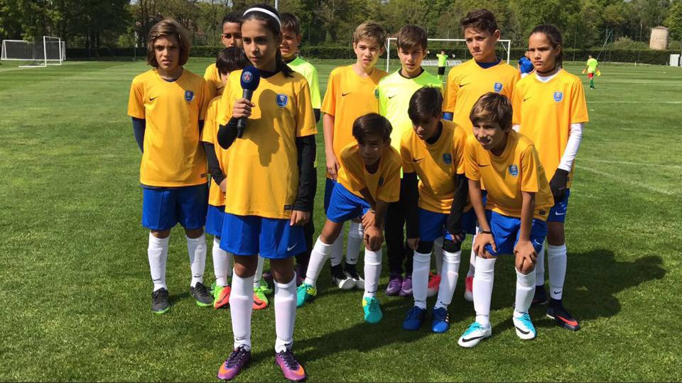 Joguei a PSG Academy Cup e foi uma experiência inesquecível