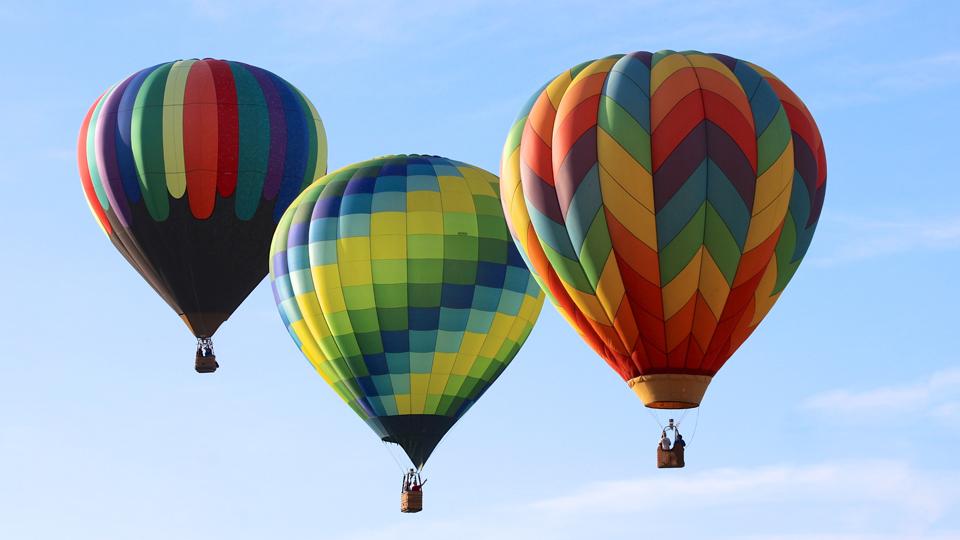 Dica de Viagem: voos de balão fazem o amor estar no ar no fim de semana para namorados