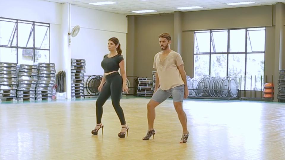 Para arrasar como uma celebridade na dança, o Stiletto é uma ótima opção