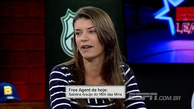 Sabrina Araújo fala sobre criação do 'NBA das Mina', podcast sobre basquete