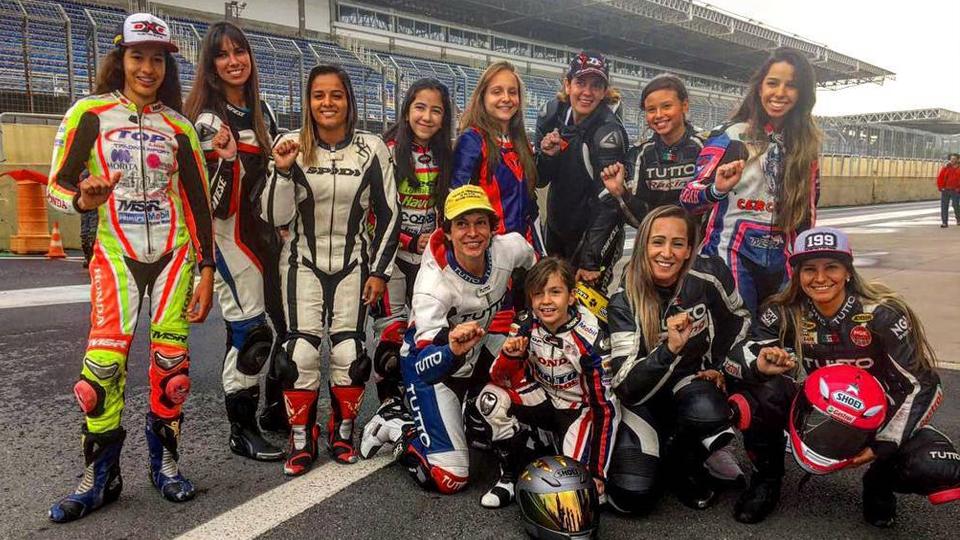 Paixão sem idade: conheça meninas e mulheres que encaram a velocidade das motos do SuperBike Brasil
