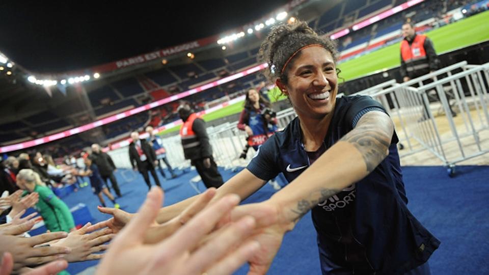 Cristiane é eleita para a seleção da Champions League feminina