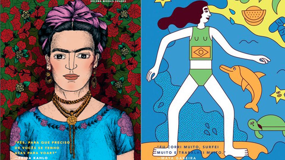 Maya Gabeira, Frida Kahlo, Malala; conheça o livro com histórias de ninar para meninas empoderadinhas