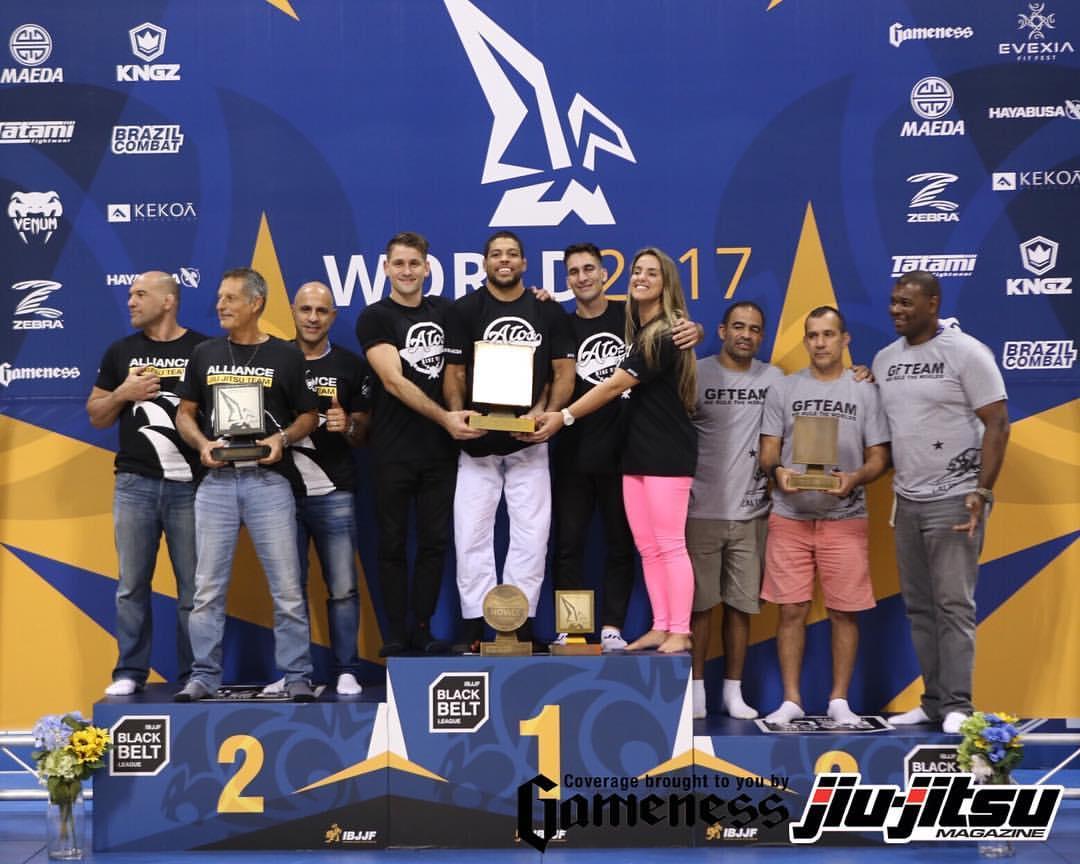 Melhores equipes do Mundial IBJjF 2017. (Imagem: Jiu-Jitsu Magazine)