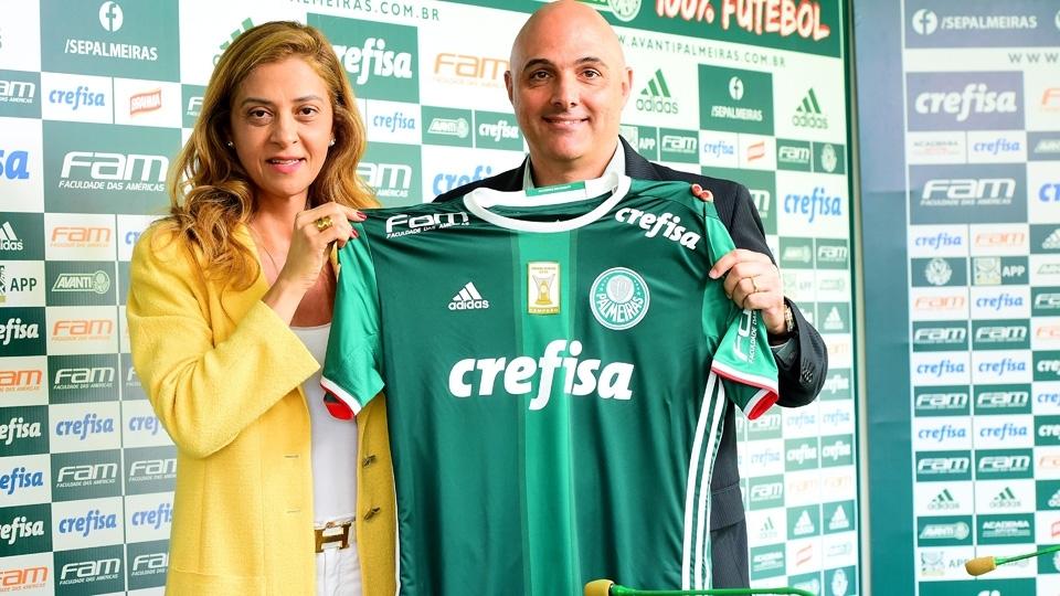 Leila dá recado para torcida do Palmeiras: 'Não decido com relação a contratação'