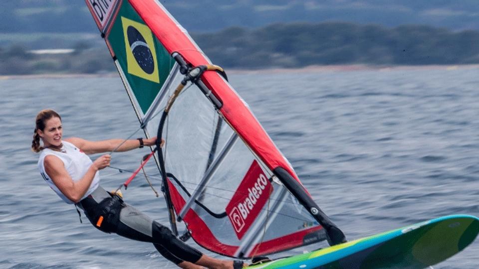 Patrícia Freitas garante ouro na RS:X na Copa do Mundo de Vela