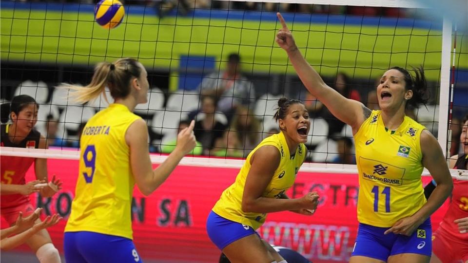 Em partida acirrada, Brasil vence China e avança à final de Montreux
