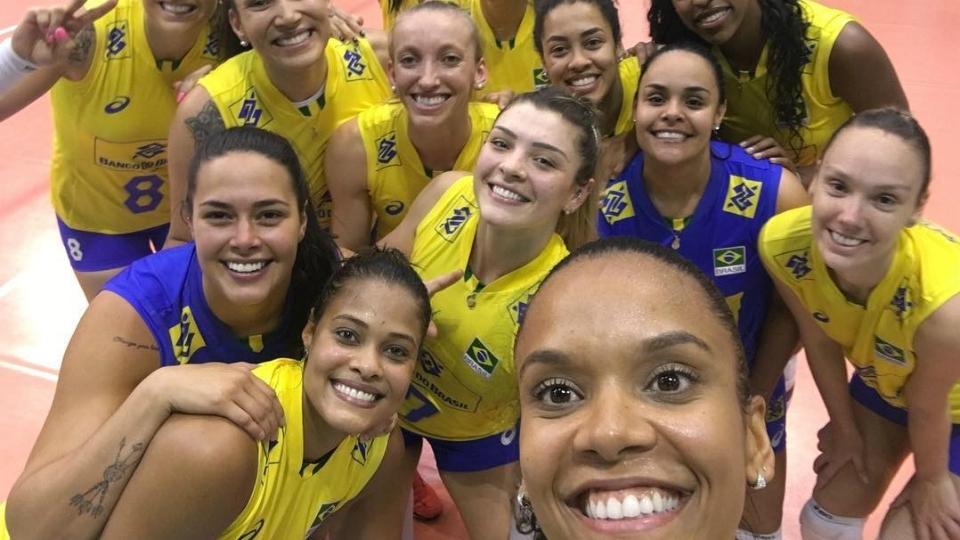 Brasil vence Alemanha e é campeão do Montreux Masters de vôlei feminino