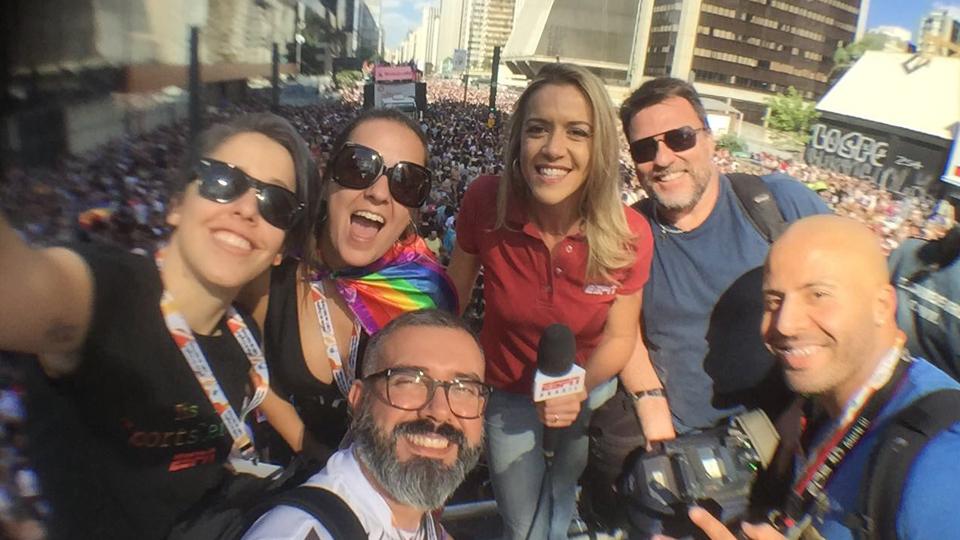 Direto da Avenida Paulista, Gabriela Moreira mostra relação entre esporte e parada do orgulho LGBT