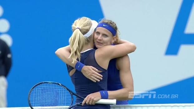 Safarova vence Gavrilova e vai à semifinal no WTA de Eastbourne