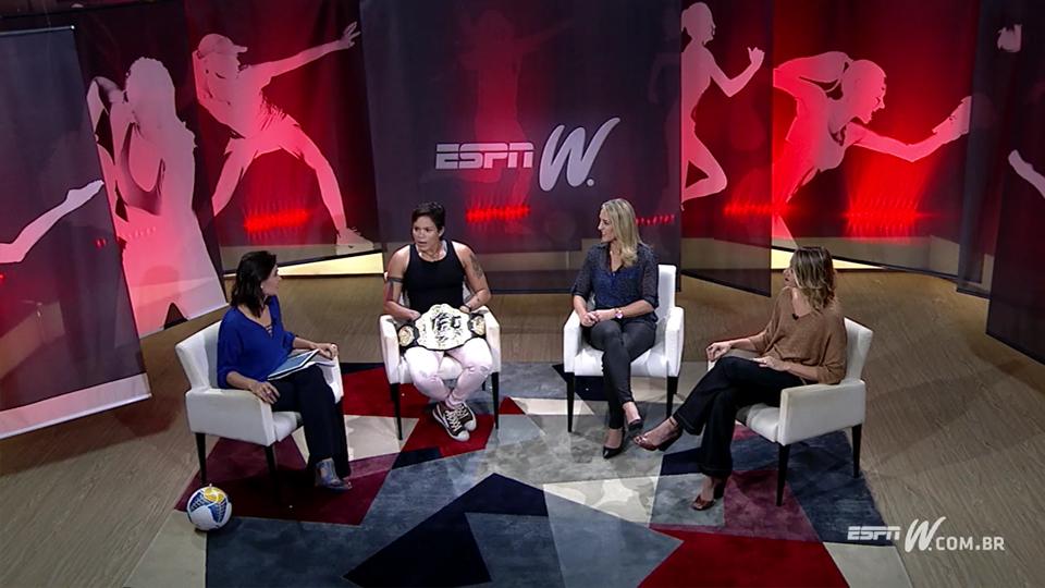 Campeã do UFC, Amanda Nunes fala sobre crescimento dos esportes de luta entre as mulheres no Olhar espnW
