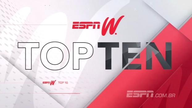 Cesta de 3, toco e golaços; veja o Top 10 do ESPN W