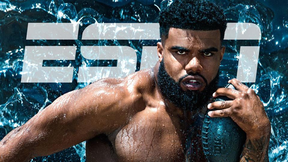 ESPN Body Issue 2017: Ezekiel Elliott, crop tops e o processo de transformar magreza em 'força bruta'