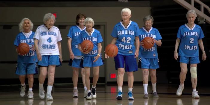 Quer jogar basquete neste time? Só se tiver 80 anos ou mais