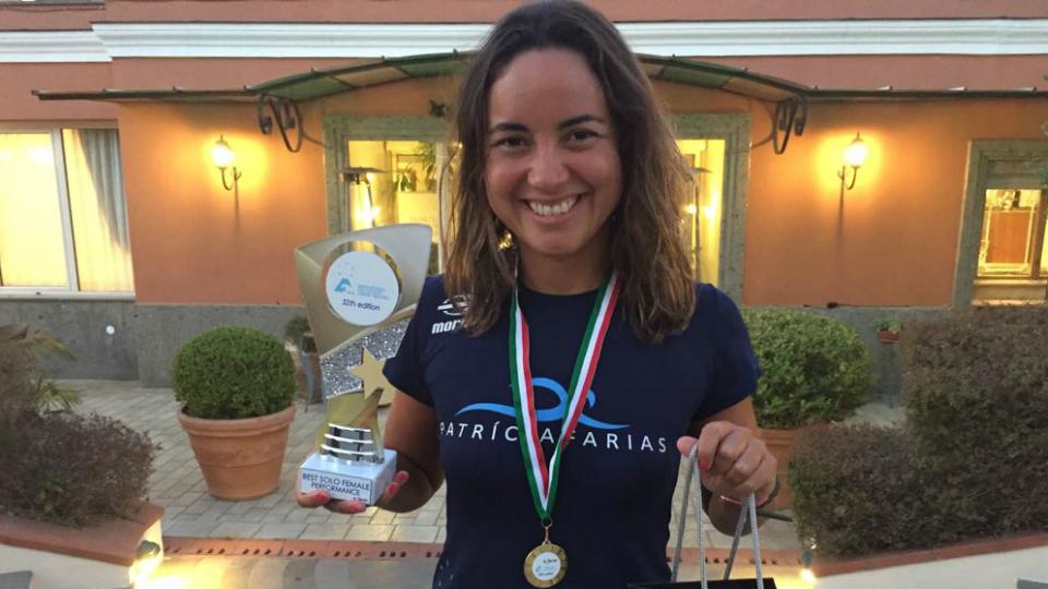 Maratonista aquática Patrícia Farias fala com exclusividade sobre a Travessia Capri-Nápoles, uma das provas mais duras do planeta
