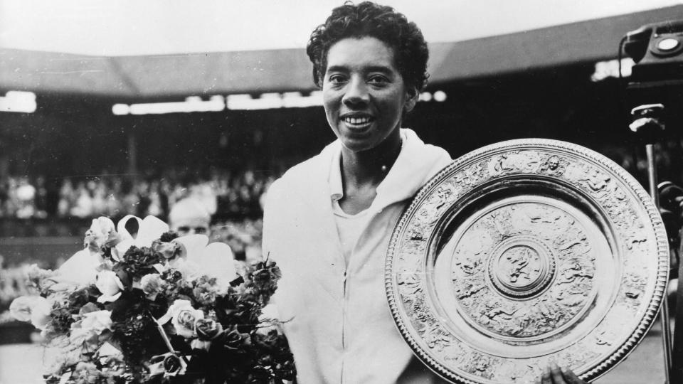 Primeira tenista negra a jogar – e vencer – em Wimbledon, Althea Gibson foi um ícone do combate ao racismo no esporte