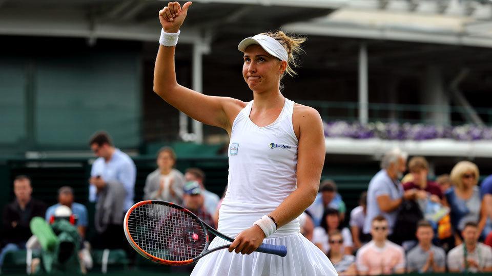 Na estreia em Wimbledon, Bia Haddad vence pela 1ª vez em um Grand Slam e quebra tabu de 28 anos