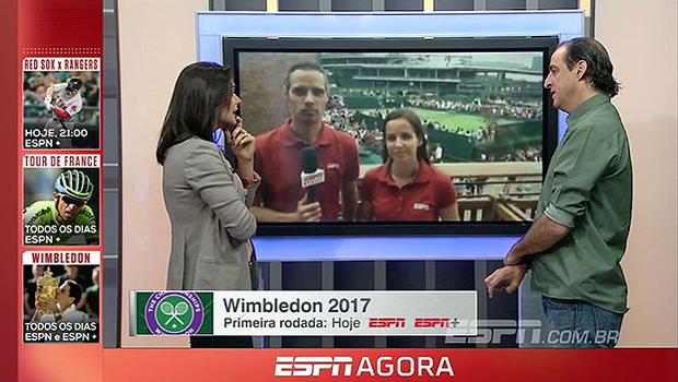Direto de Londres, Natalie Gedra e João Castelo Branco falam da classificação de Bia Haddad em Wimbledon
