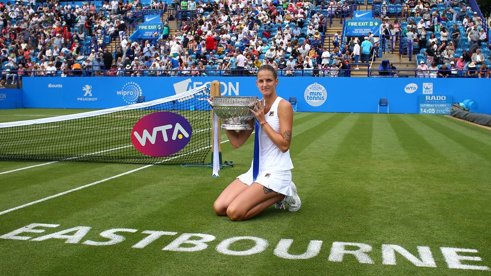 Pliskova bate Wozniacki na final e fatura o WTA de Eastbourne