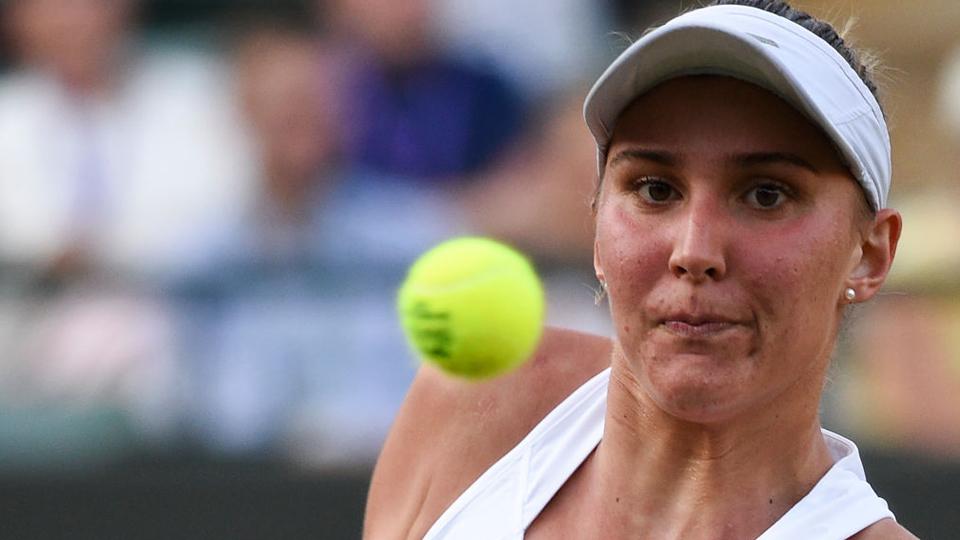 Após vitória inédita na estreia, Bia Haddad perde para número 2 do mundo e cai em Wimbledon