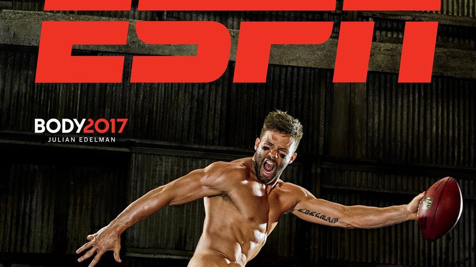 ESPN Body Issue 2017: 'O melhor modo para ficar em forma é nunca ficar fora de forma', o lema de Julian Edelman
