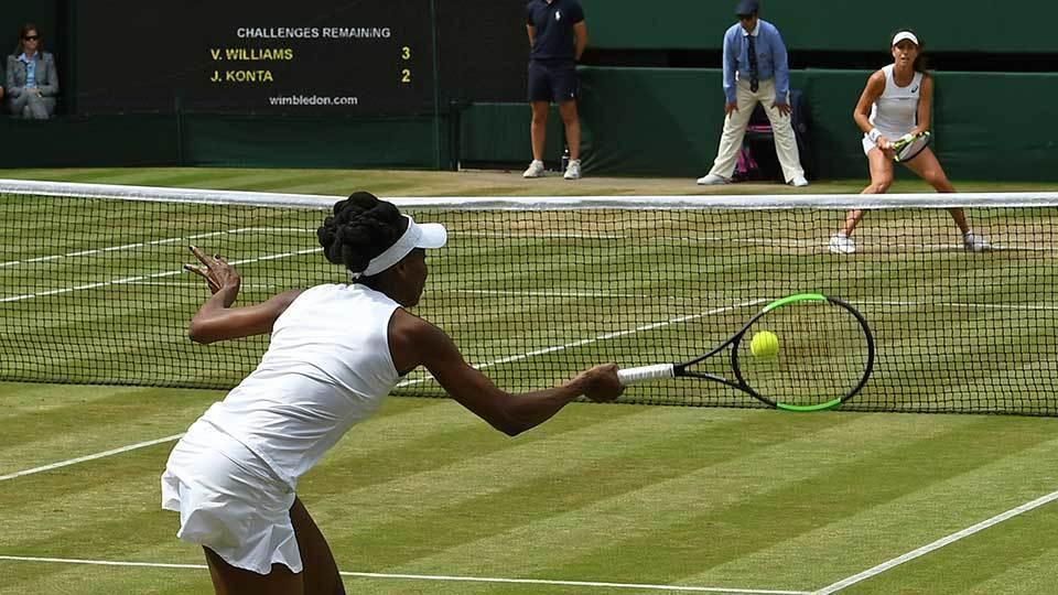 Venus bate 'queridinha' britânica e tentará ser mais velha campeã de Slam em Wimbledon