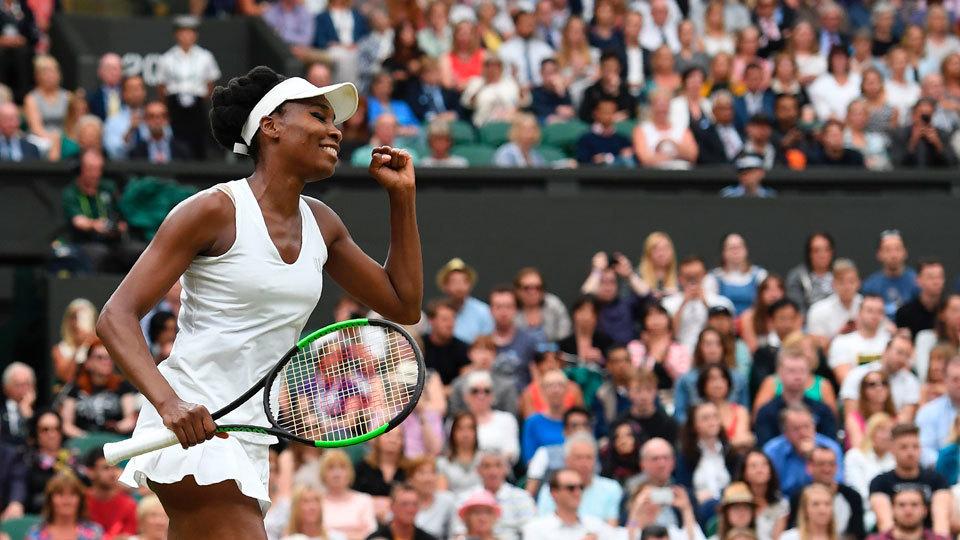Aos 37 anos, Venus Williams ainda saca tão rápido como homem top 20 em Wimbledon