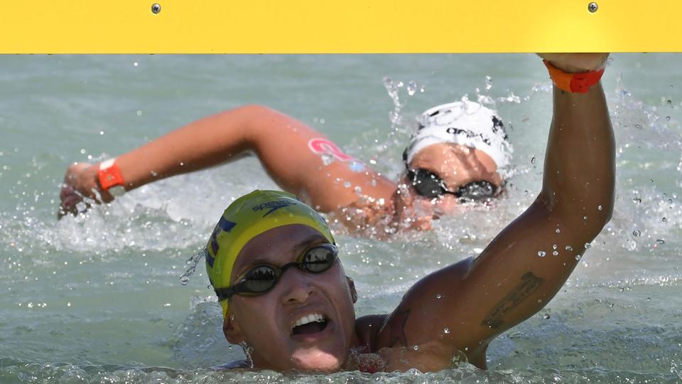 Ana Marcela Cunha é tricampeã mundial nos 25km