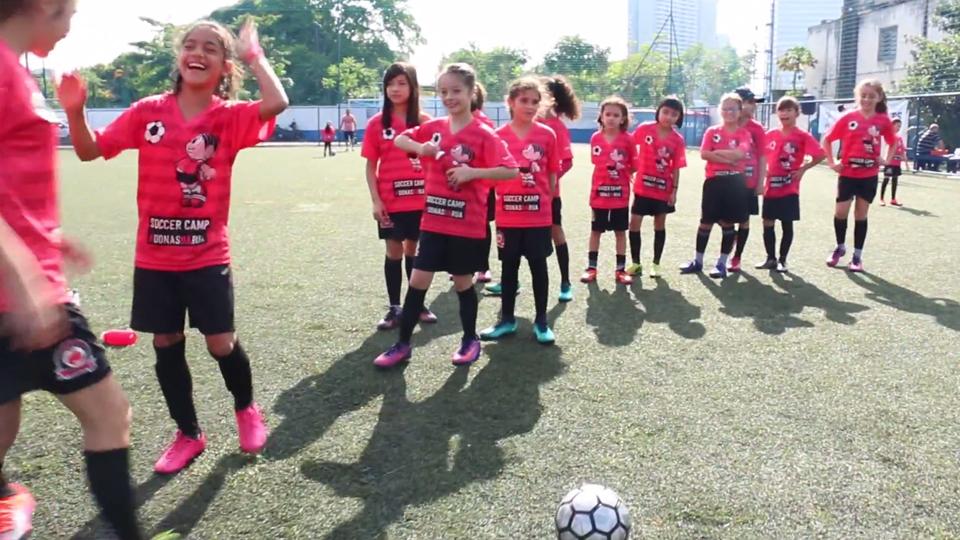 Segunda edição do Soccer Camp da Turma da Mônica e Pelado Real enfatiza o empoderamento através do esporte