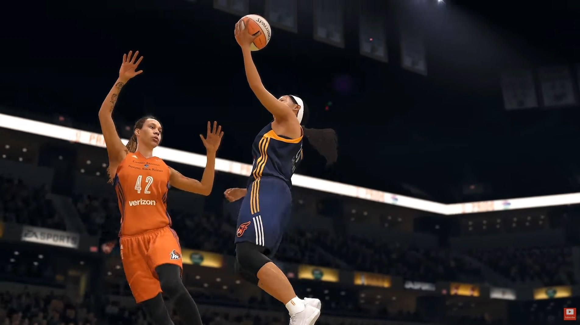 'NBA Live 18' segue os passos de 'FIFA' e trará WNBA, a liga feminina de basquete norte-americana