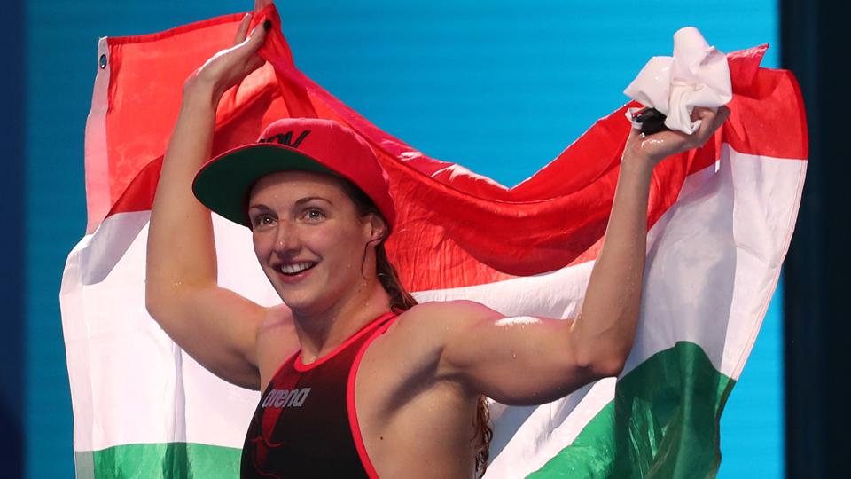 Katinka Hosszu quebra dois recordes e conquista quatro ouros em Berlim