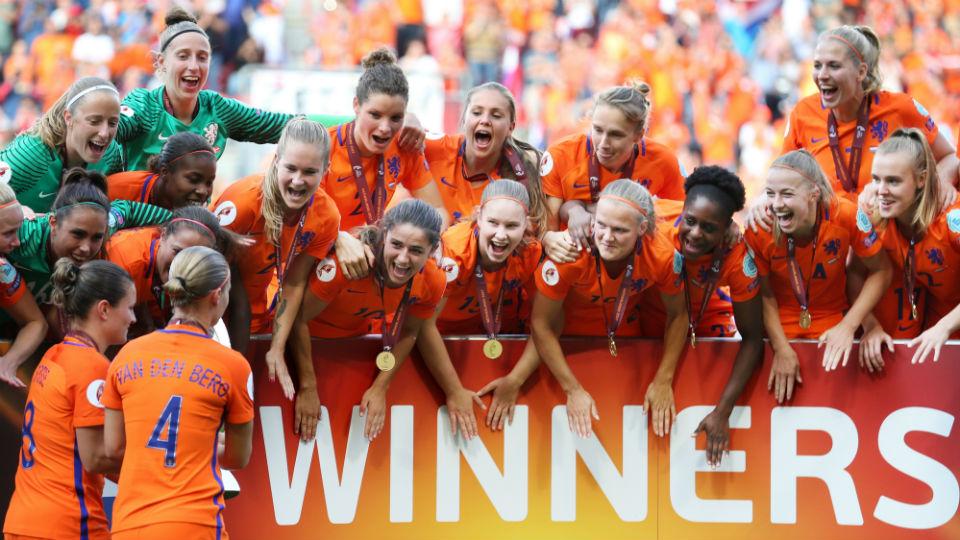 Seleção holandesa feminina de futebol, uma inspiração